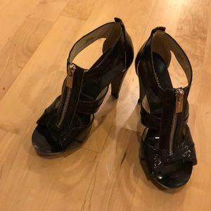 Zip up Michael Kors heels